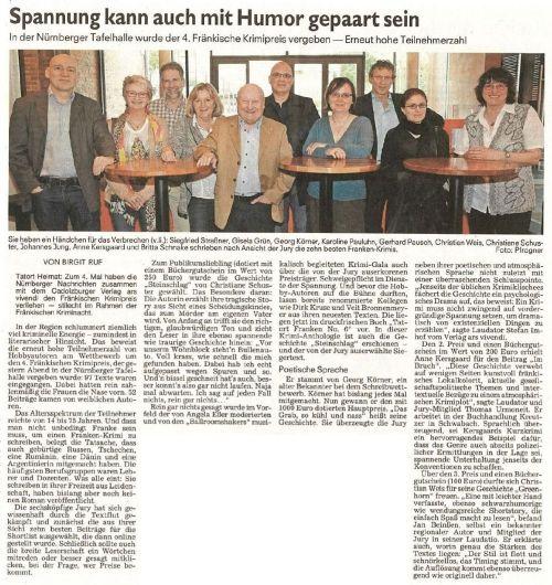 Nürnberger Nachrichten 6.5.2015