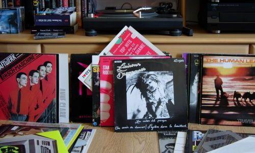 Alte Vinylplatten