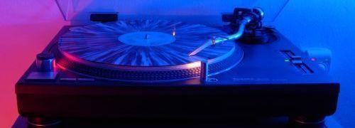 Buntes Vinyl
