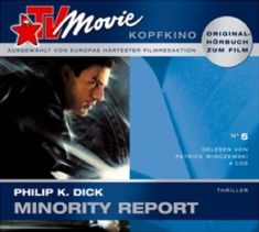 Minority Report Hörbuch