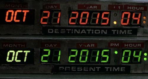 Destination Time 2015