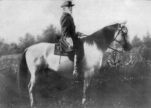 General Lee und Traveller im September 1866